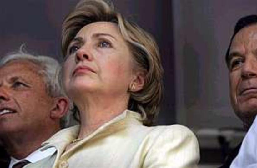 hillary clinton 298.88 (photo credit: Associated Press)