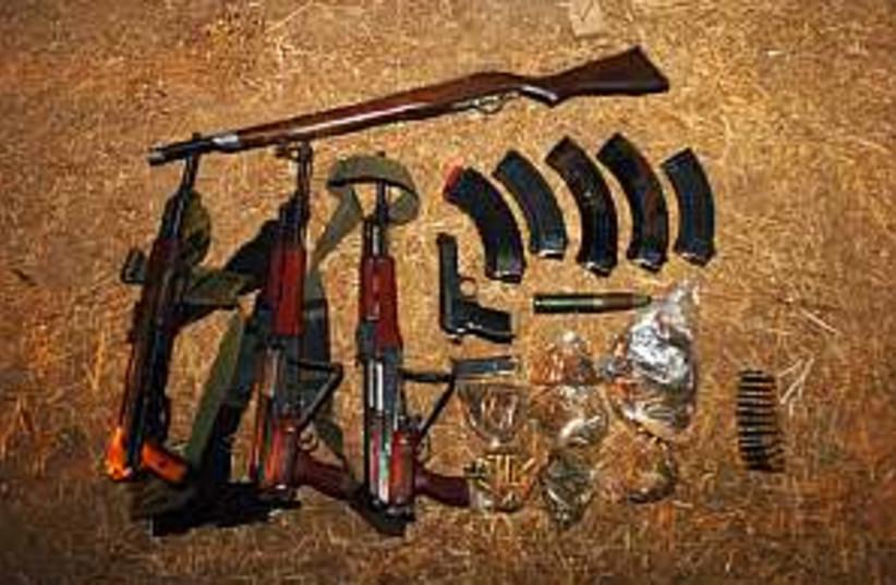 Weapons 298.88 (photo credit: IDF)