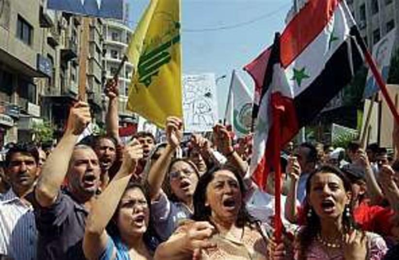 hizbullah 298 ap (photo credit: AP)