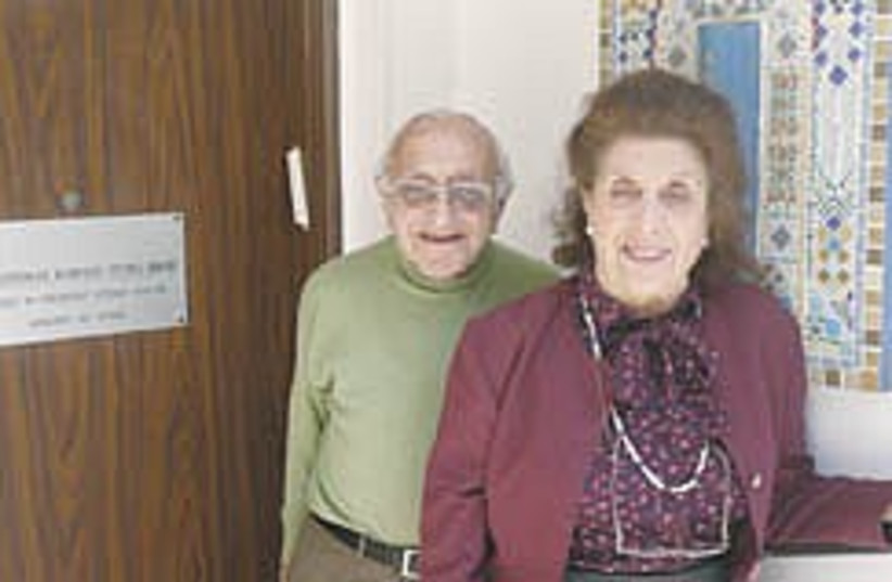 nice old people (photo credit: Ruth Eglash)