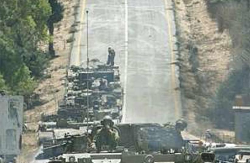 IDF armor lebanon 298.88 (photo credit: AP [file])