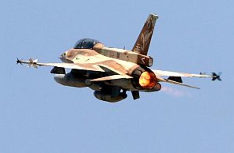 iaf taking off 298 AJ (photo credit: Ariel Jerozolimski)