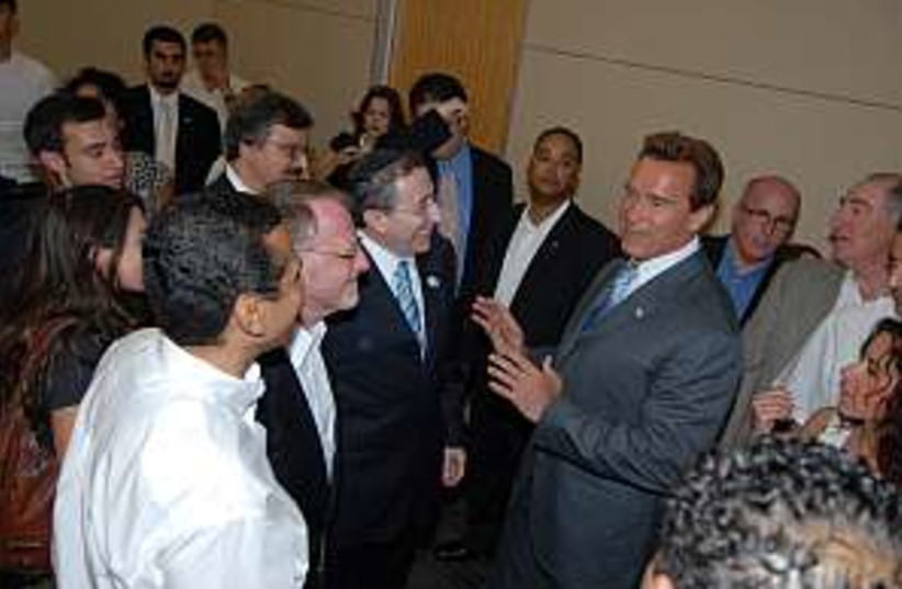 Schwarzenegger 298 court (photo credit: Courtesy)