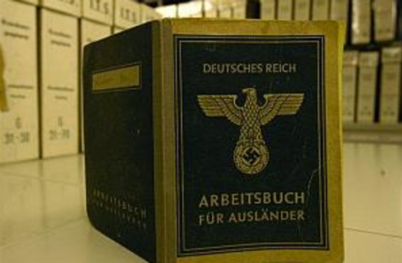 nazi archive 298 88 (photo credit: AP)