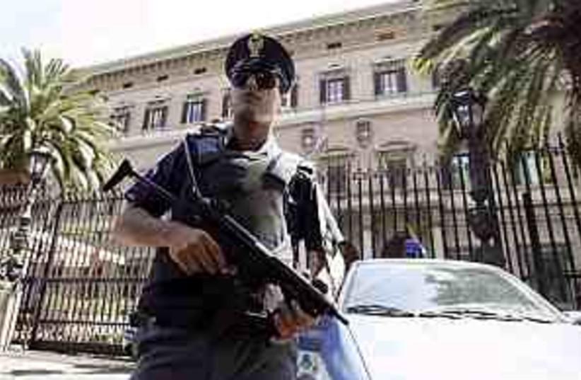rome police 298 ap (photo credit: AP)