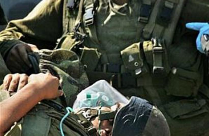 IDF evacuated 298 ap (photo credit: AP [file])