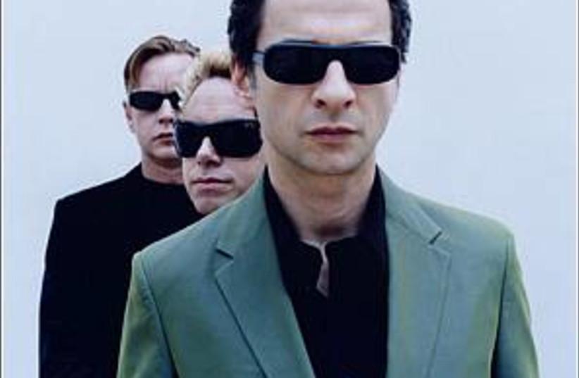 depeche mode 298 88court (photo credit: Courtesy)
