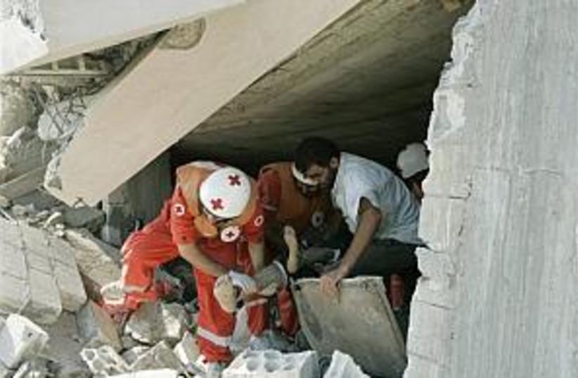qana rubble 298 (photo credit: AP)