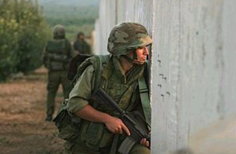 idf soldier lebanon 298  (photo credit: AP)