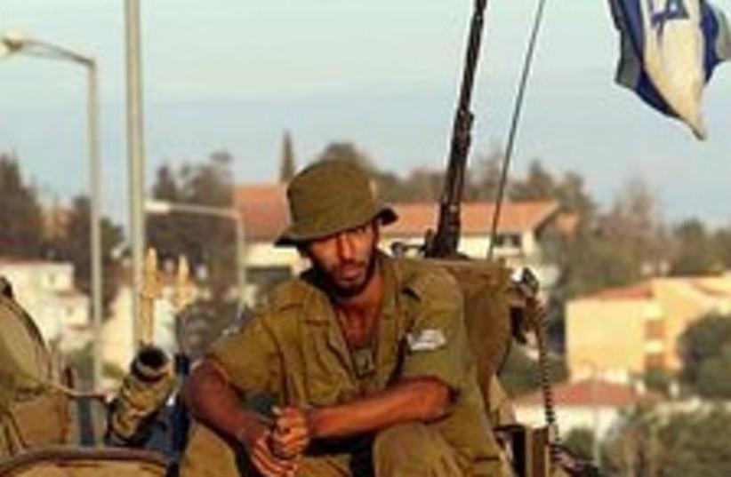 IDF soldier lebanon 224 (photo credit: Ariel Jerozolimski [file])