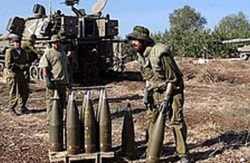 artillery reservists 2 (photo credit: Ariel Jerozolimski)