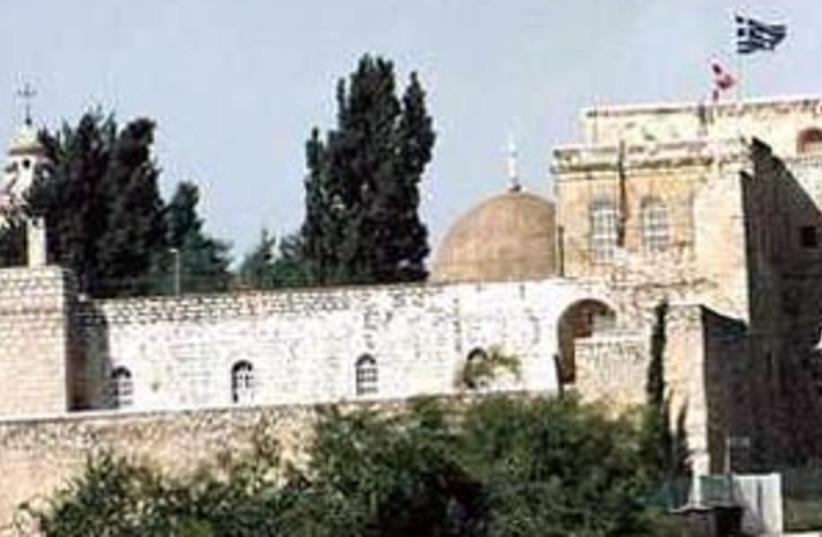 monastery  cross 298 88 (photo credit: Bellina Israel)