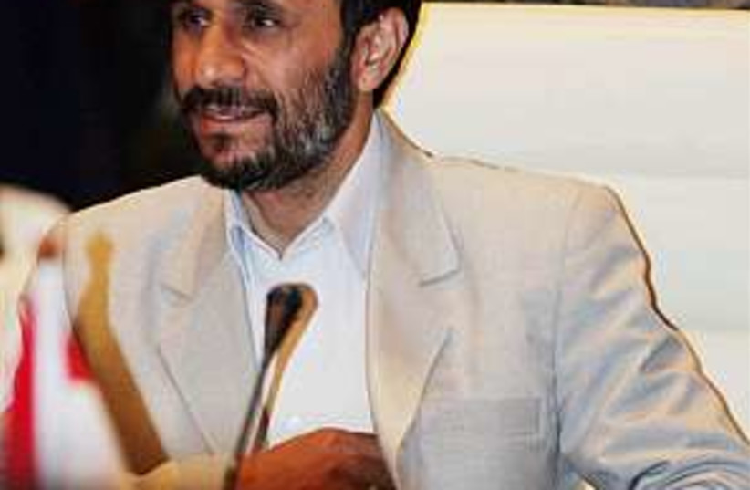 Ahmadinejad 298 ap (photo credit: AP)