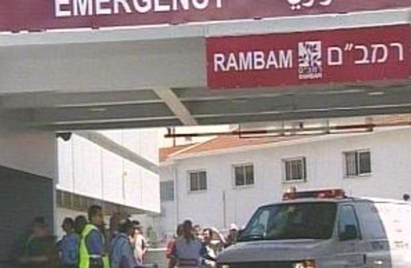 ambulance arrives 298 (photo credit: Channel 10)