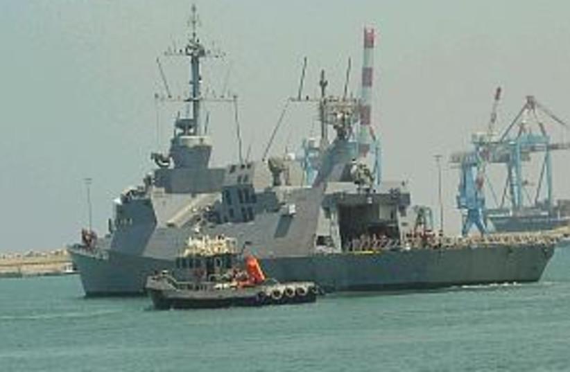 hanit navy warship 298.8 (photo credit: IDF)