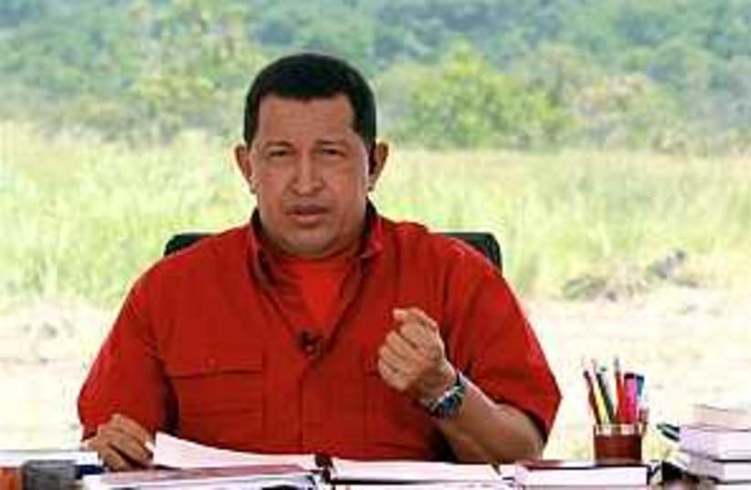Chavez on Castro 298.88 (photo credit: AP)