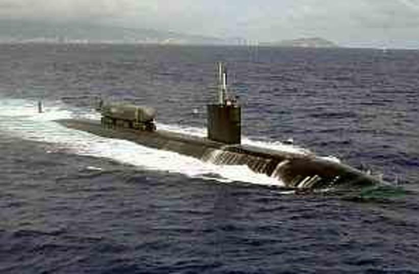 submarine 298 88 (photo credit: US Government)