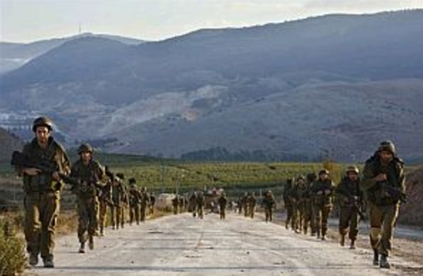 IDF in Lebanon 298.88 (photo credit: AP [file])