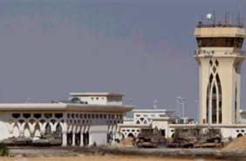 gaza rafah airport 298 (photo credit: AP)