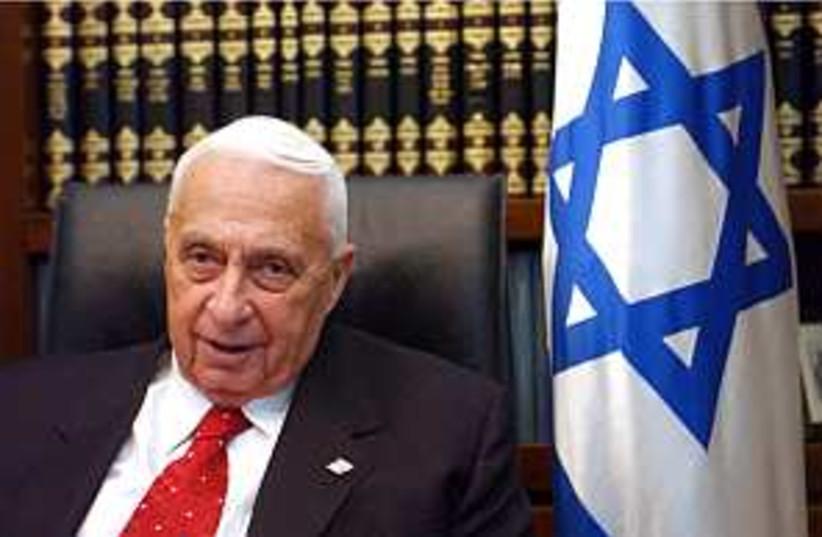 Ariel Sharon. (photo credit: Ariel Jerozolimski)