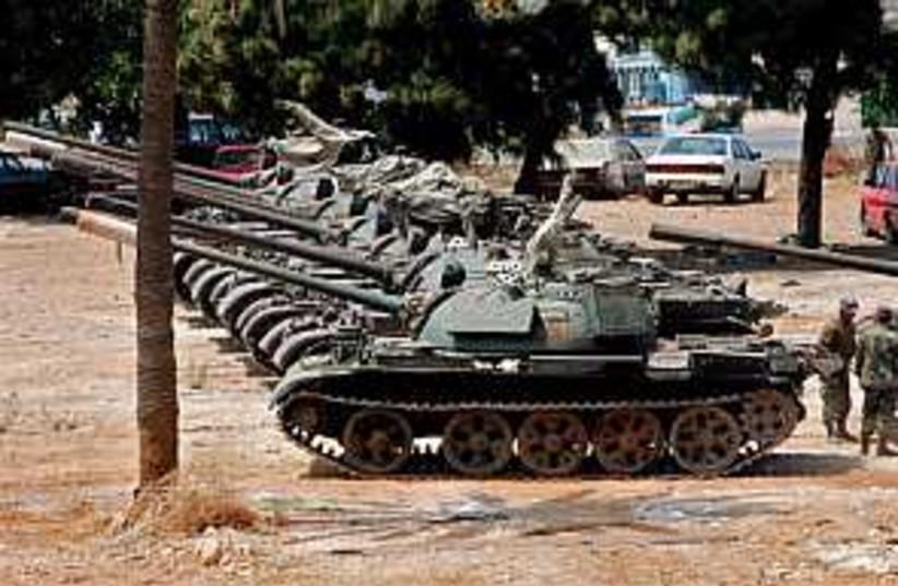 lebanon army 298 ap (photo credit: AP)