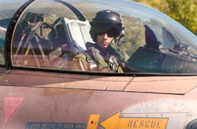 pilot iaf uf 298.88 (photo credit: Ariel Jerozolimski)