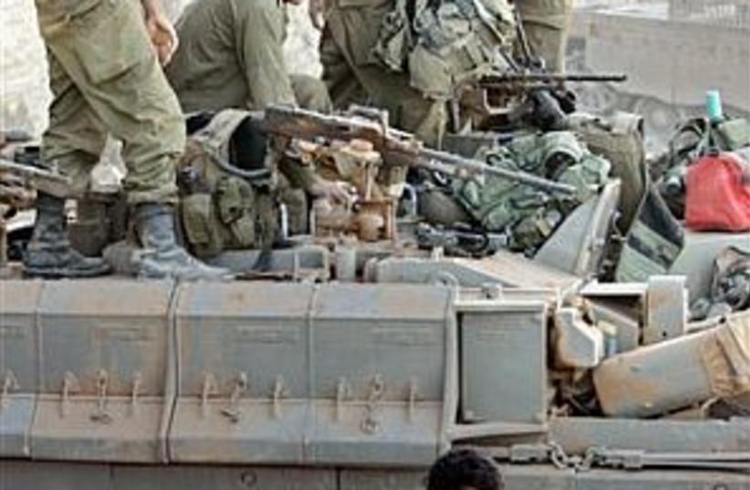 idf troops 298.88 (photo credit: AP)