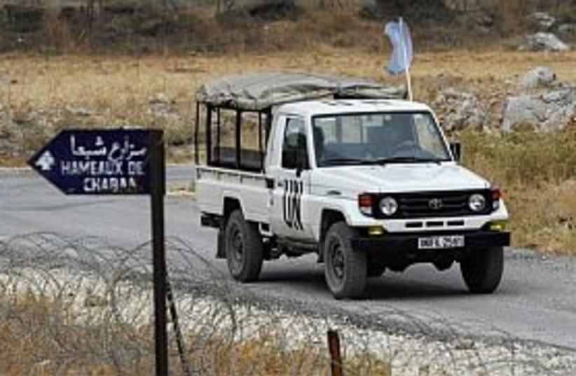 unifil in south lebanon (photo credit: AP [file])