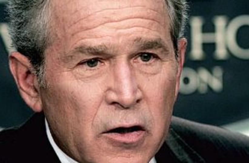 Bush 298 (photo credit: AP)