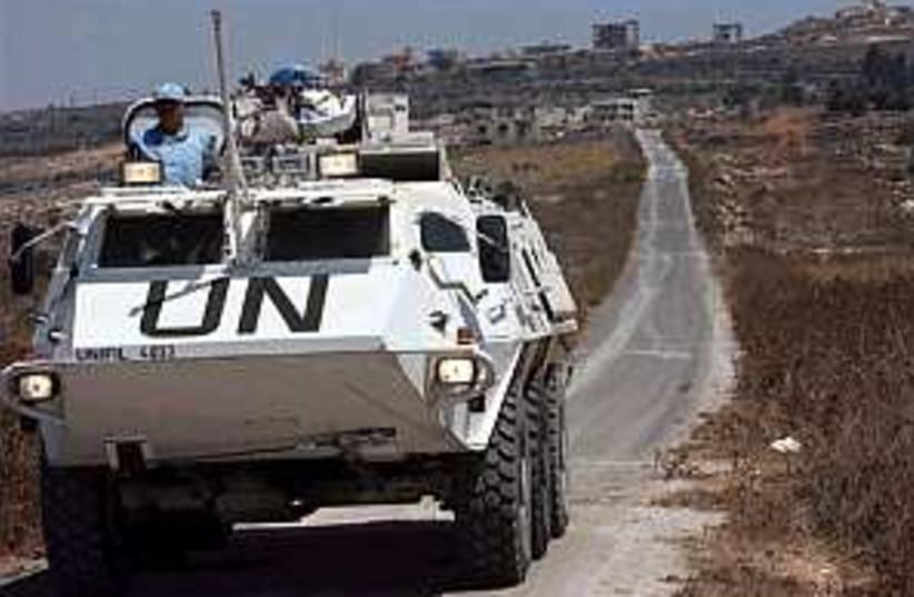 un peacekeepers 298.88 (photo credit: AP)