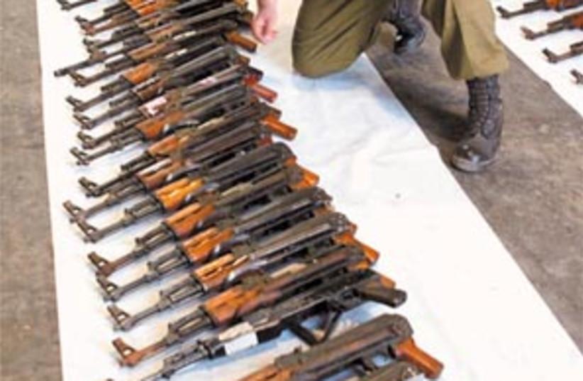hizbul weapons 88 298 (photo credit: Ariel Jerozolimski)