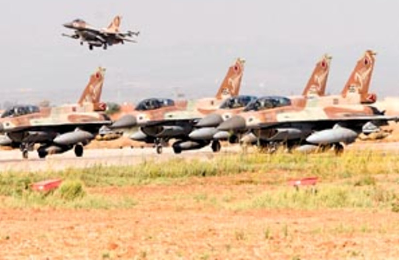 iaf fighter jets 88 298 (photo credit: Ariel Jerozolimski)