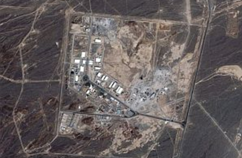 iran map nuclear 298.88 (photo credit: AP [file])
