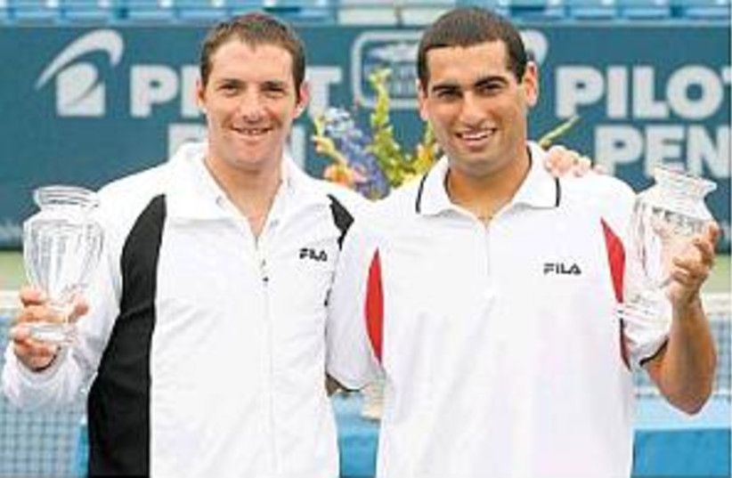 erlich and ram 298.88 (photo credit: Getty Images/Pilot Pen Tennis)