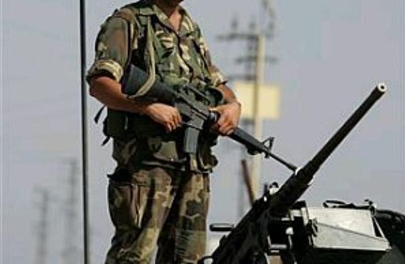 Lebanese troop 298.88 (photo credit: AP)