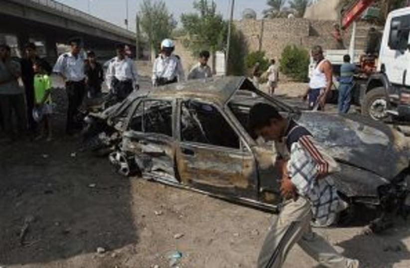 baghdad car bomb 298 (photo credit: )