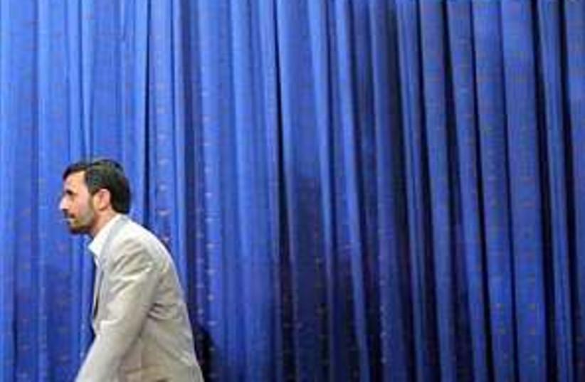ahmadinejad Khomeini 298 (photo credit: AP)