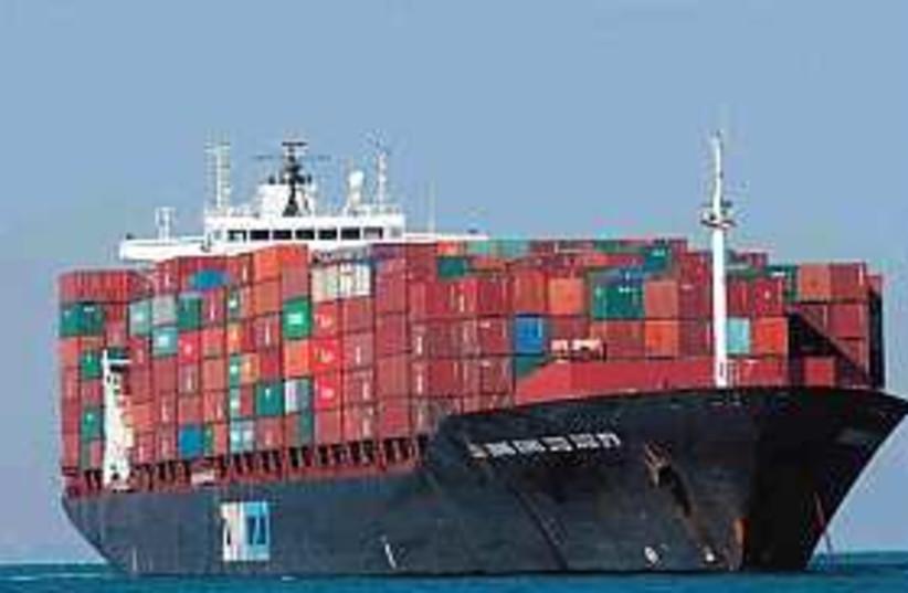 shipping 298.88 (photo credit: Ariel Jerozolimski [file])