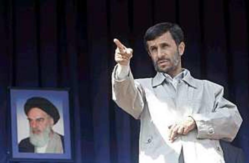 Ahmadinejad brilliant  (photo credit: AP [file])