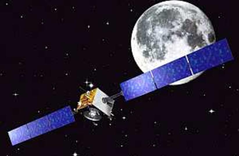 smart 1 moon probe (photo credit: AP)