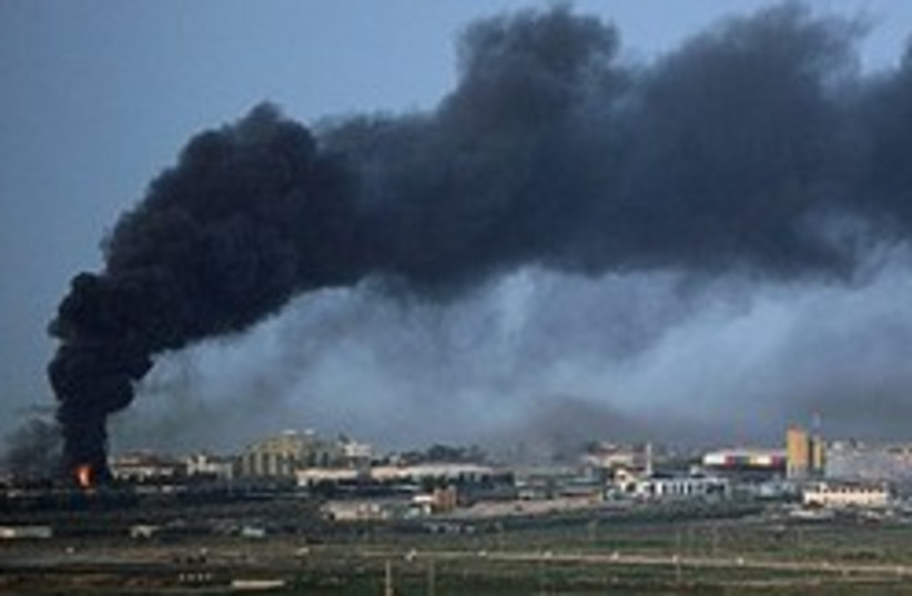 gaza bombing iaf (photo credit: AP [file])