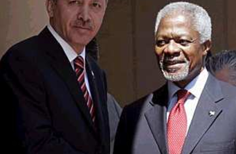 annan and erdogan 298 ap (photo credit: AP)