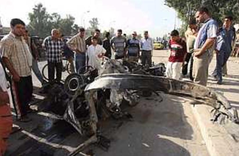 iraq car bomb 298.88 (photo credit: AP)