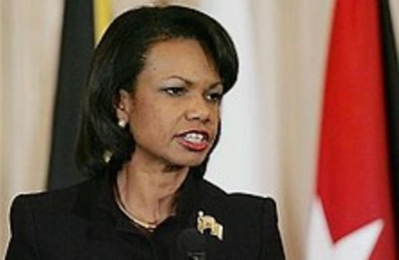 Condi Rice 298.88 (photo credit: AP [file])