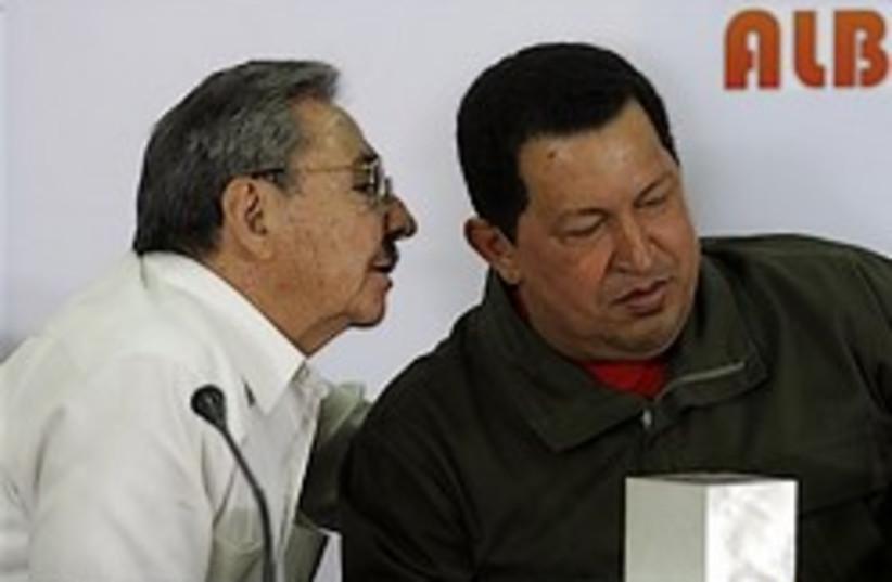 cuba castro venezuela chavez 248 88 ap (photo credit: )