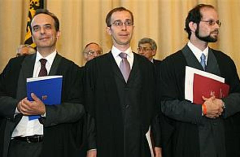 german rabbis 298.88 (photo credit: AP)