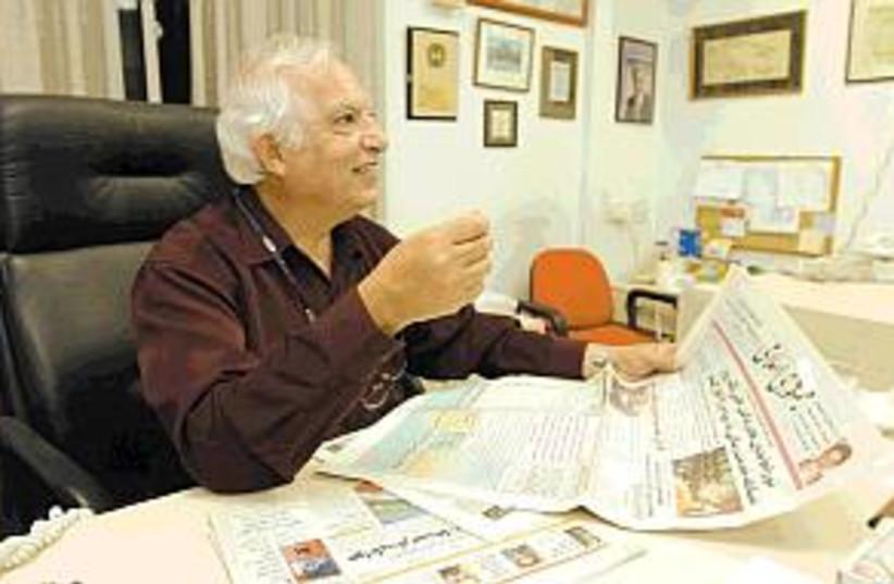 manashe amir in office (photo credit: Ariel Jerozolimski)