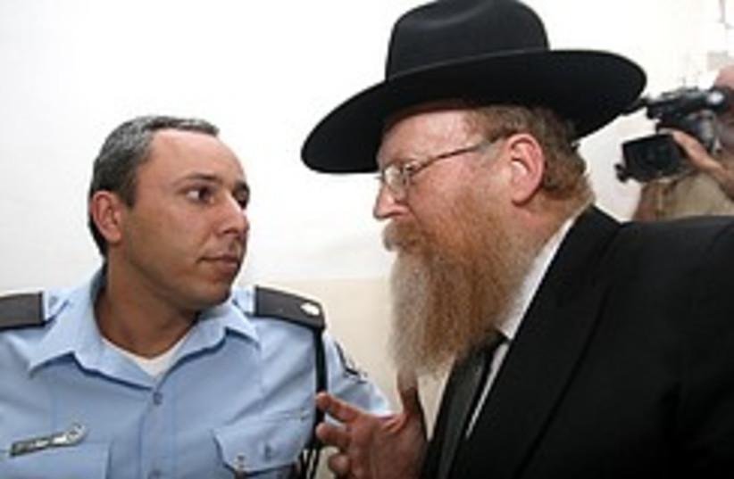 Rabbi Avraham Froelich, the lobbyist hosting the h (photo credit: Ariel Jerozolimski)