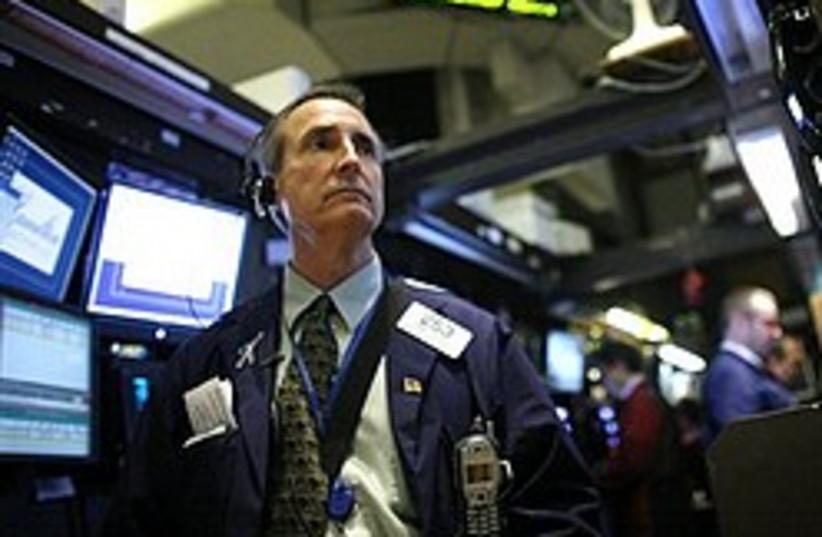 new york stock exchange 248.88 (photo credit: AP)