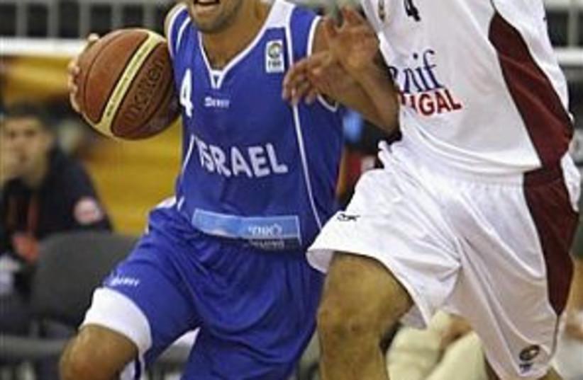 israel bask ball 298.88 (photo credit: AP)